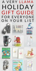 Shop Llama Gifts and fun llama holiday decor ideas for Christmas. Fun and unique llama holiday gifts for everyone on your shopping list.