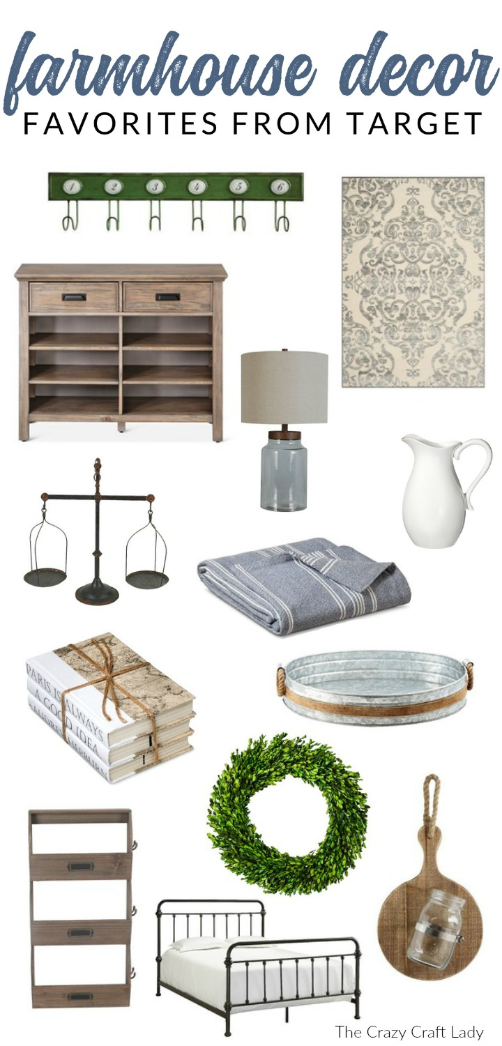 Shop my suggestions for affordable Target farmhouse decor. Target is one of my absolute favorite sources for affordable farmhouse decor. Here are my top budget-friendly picks.