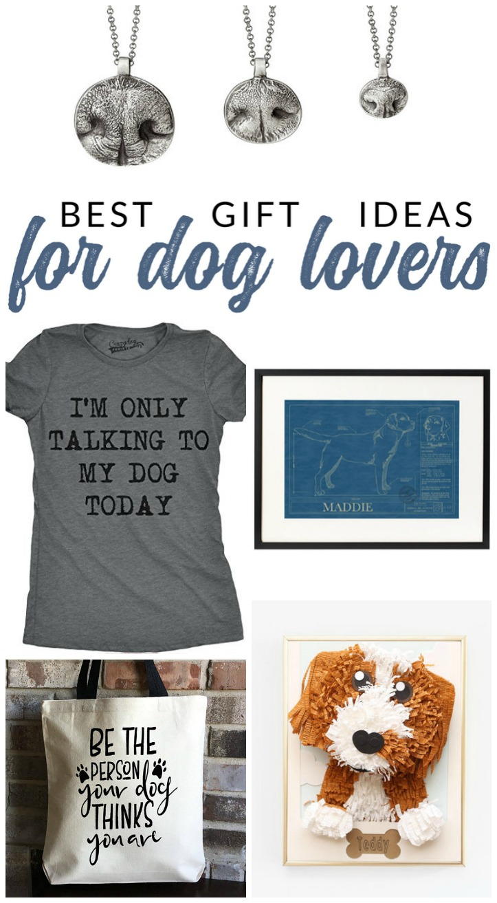 These gifts for dog lovers are sure to impress the dog parent in your life. Find the perfect gift for the the doggie moms and dads in your life!