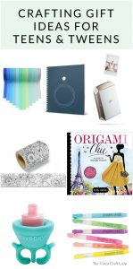 Find the perfect gift for a tween or teen with these thoughtful and creative gift ideas. Find crafts for tweens and teens that spark creativity and imagination.
