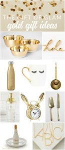 This holiday season, why not give the gift of glitz and glam? There are so many pretty gold present ideas out there, I rounded up my very favorite. Whether it's headphones, desk accessories, or kitchenware, you're sure to find the perfect gift for your mom, sister, BFF, or even a fun hostess gift.