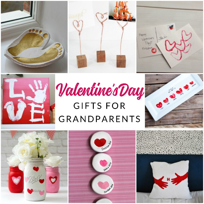 Heartfelt Holiday Handmade Grandparent Valentines Gifts The Crazy Craft Lady