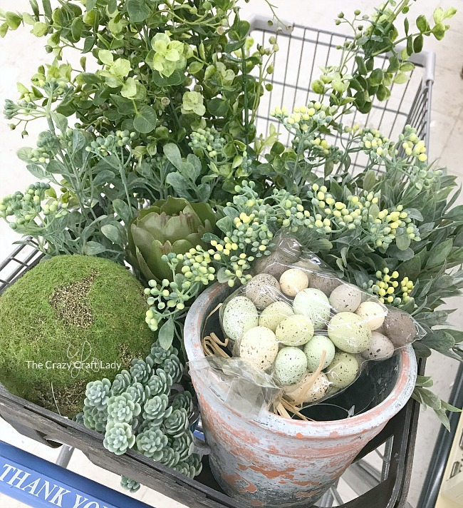 spring decor finds from Hobby Lobby