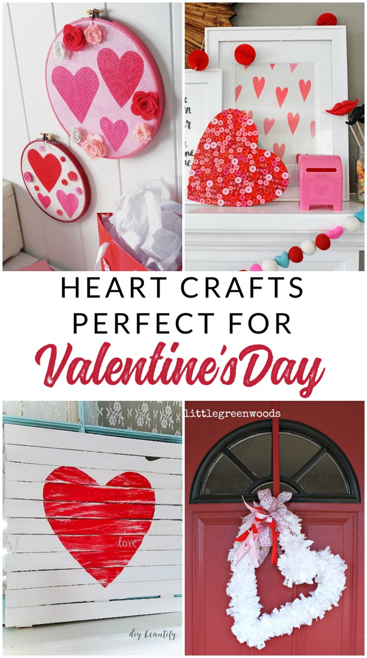 Make your own gorgeous Valentine's Day decor with these 19 DIY heart decorations. These awesome Valentine tutorials provide plenty of decor inspiration.