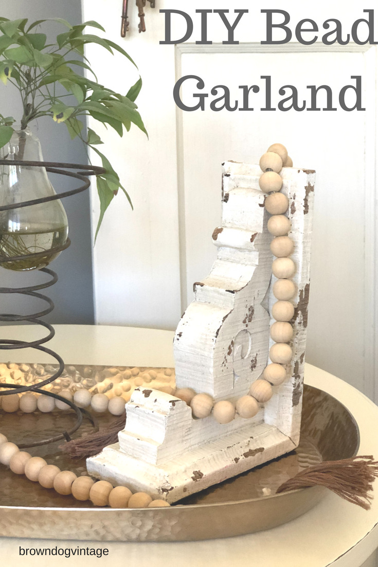 diy bead garland