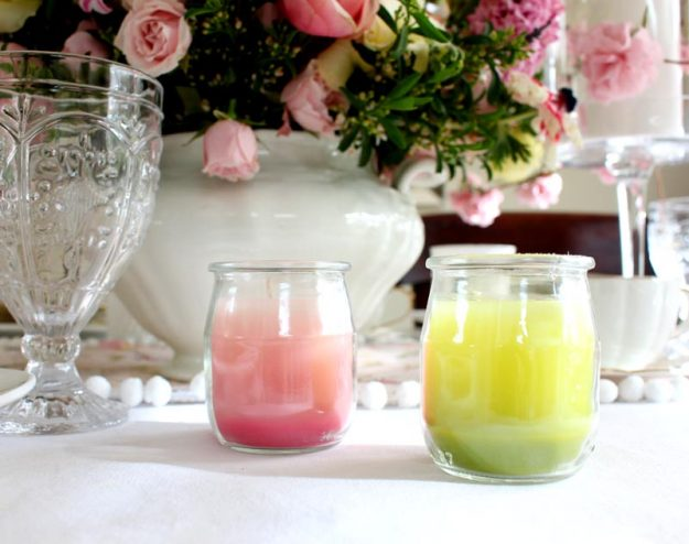 Easy DIY Crayon Candles - how to use old crayons