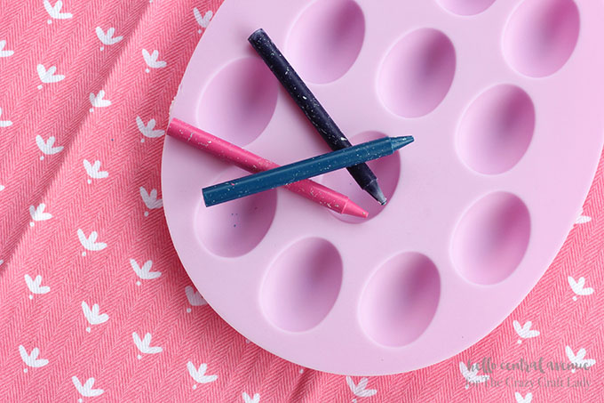 These diy egg crayons are the perfect alternative to dying Easter eggs or the sweetest little surprise in your child's Easter basket.