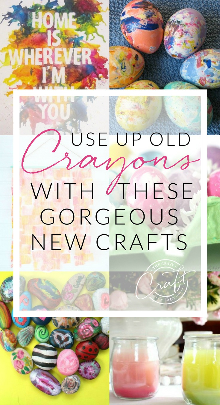 You won't believe that some of these gorgeous DIYs and crafts were made from old crayons. Check out these clever ways to use broken crayons. Crayon Art & Crayon Crafts