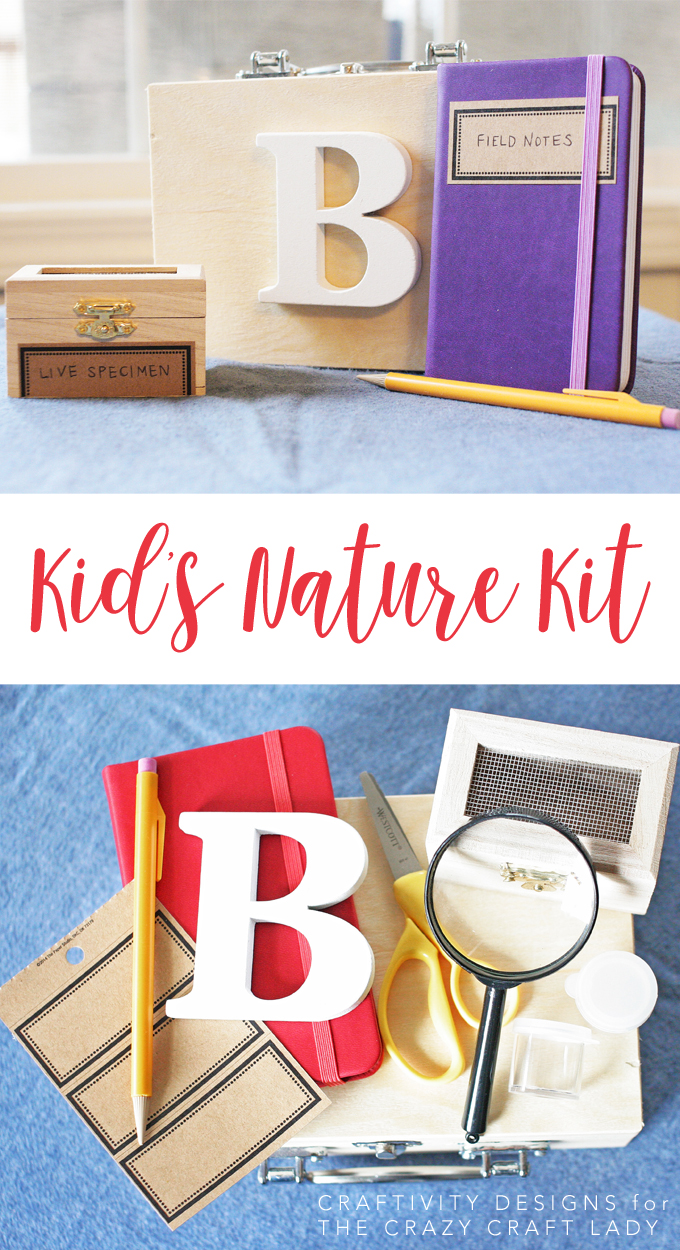 Learn how to make a fun and easy kids nature kit. Encourage creative exploration when the weather warms up and the kids head outdoors! Explore nature with children.
