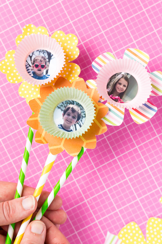 Tutorial: how to make a paper flower bouquet - finished paper flowers