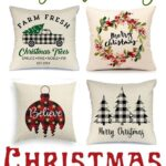 Budget-Friendly Christmas Pillow Covers