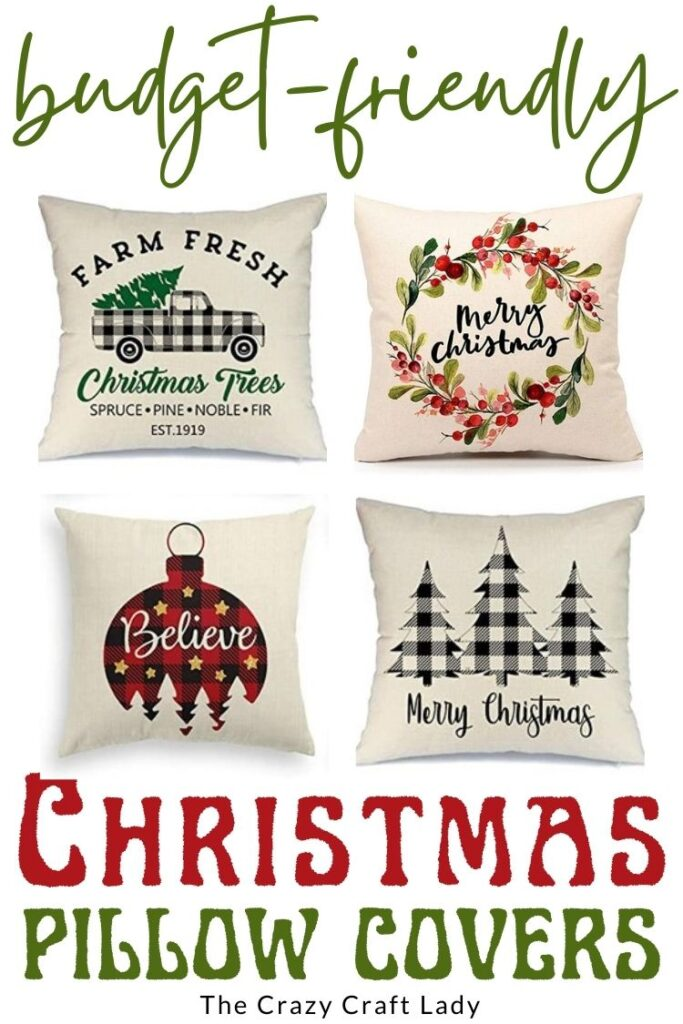 Capas de Almofada de Natal Econômicas: 25 Capas de Almofada de Natal Insanamente Acessíveis: 18x18 para BARATO!