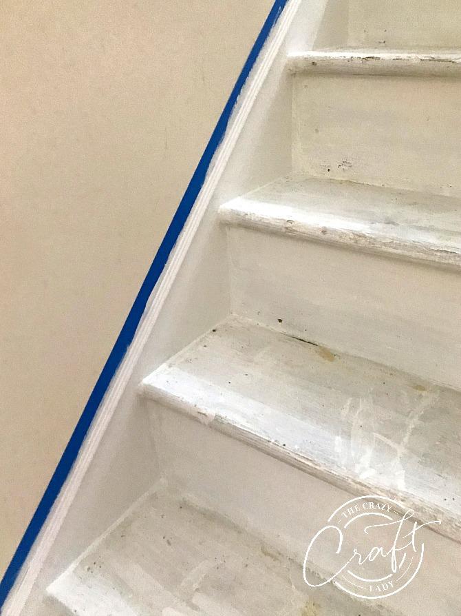 DIY Faux Stair Skirt Board
