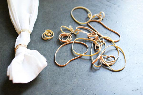 How to make DIY Shibori Napkins