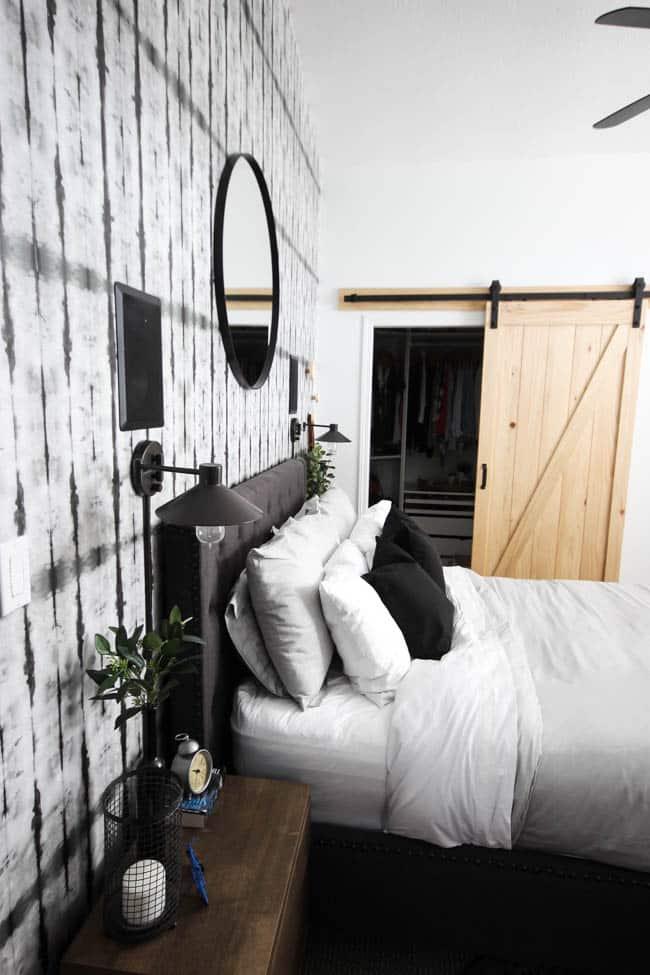 Bedroom Wallpaper Ideas - modern neutral bedroom decor