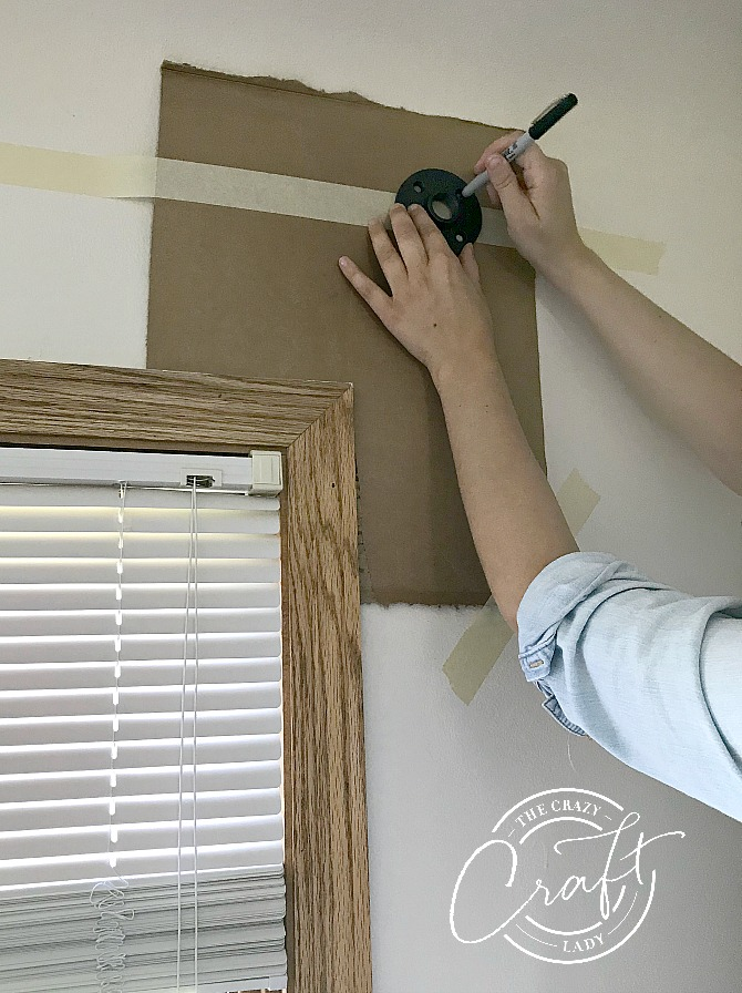 How to easily hang level curtain rods, no level or special tools required, with this one curtain hanging hack.