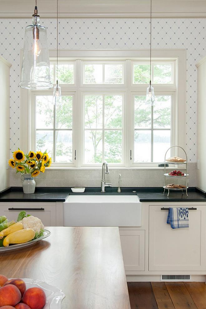 Kitchen Wallpaper Ideas - classic kitchen design