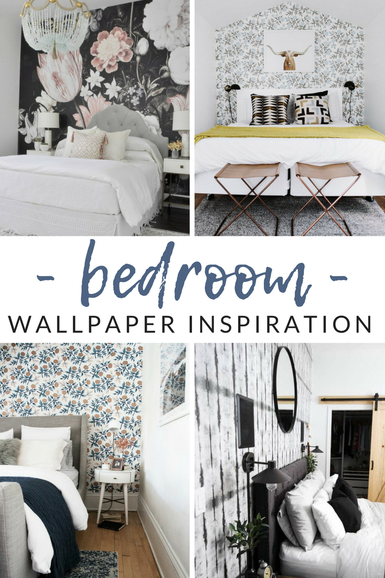 Love the idea of wallpaper, but afraid to pick (or stick?). Get your bedroom design process started with these gorgeous bedroom wallpaper ideas.