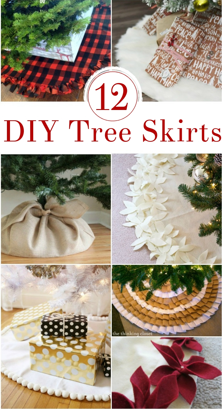 If you're ready to trim your tree this year, I've got the best DIY Christmas Tree Skirt ideas for you: from rustic ruffled creations to easy felt skirts.