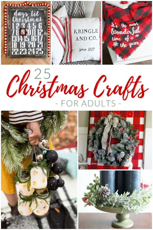 25 Very Merry Christmas Crafts For Adults The Crazy Craft Lady
