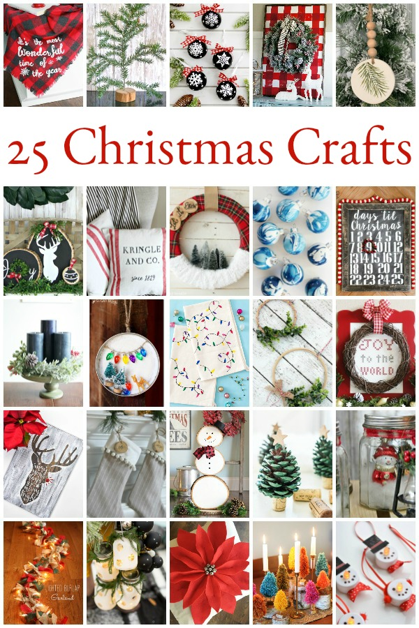 Turn up the holiday music and get crafting! These Christmas DIY and craft ideas are sure to bring holiday cheer.