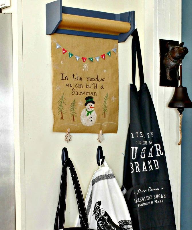 Christmas Kraft Paper Roll