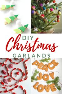 Come and trim the Christmas tree with a DIY Christmas tree garland. These 15 new and unexpected Christmas garlands are sure to add a little extra to your holiday decor this year.