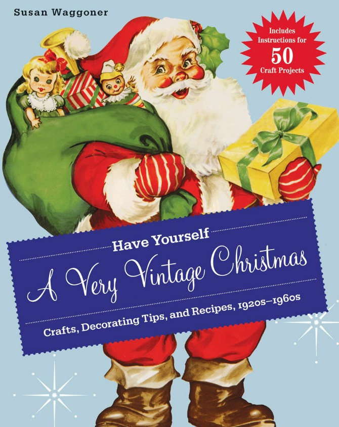 For even more vintage Christmas inspiration, check out these fun books. They would be great for gift-giving or as a conversation started on your coffee table this holiday season. Book: Have Yourself a Very Vintage Christmas Crafts, Decorating Tips, and Recipes, 1920s-1960s