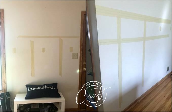 how to plan a board and batten wall