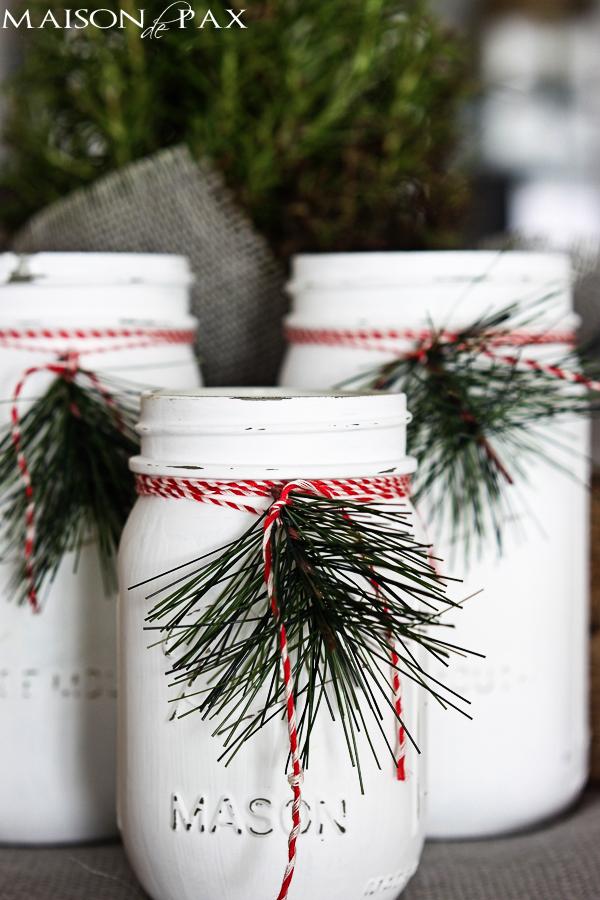 Christmas Mason Jar Luminaries - Beautiful Mason Jar Christmas Gifts