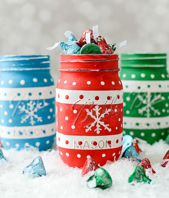 Christmas Sweater Mason Jars - Beautiful Mason Jar Christmas Gifts
