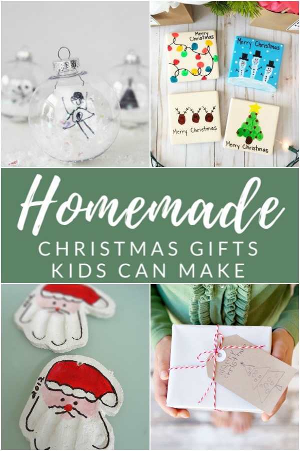 Get crafty with the kids this Christmas with these handmade gift ideas.