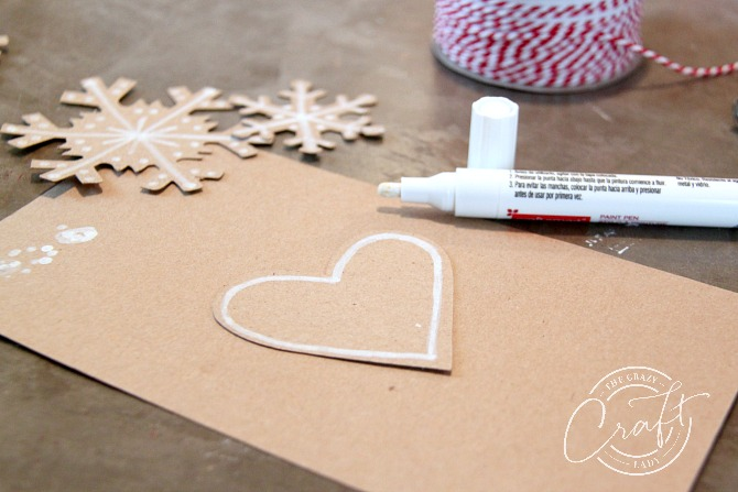How to make paper gingerbread ornaments