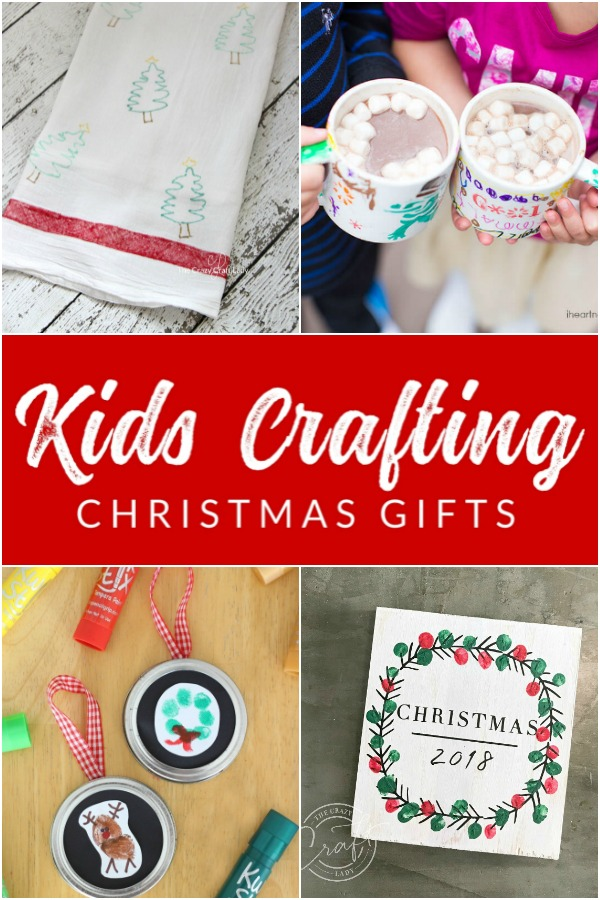 Give a sweet and thoughtful gift this year, or make a keepsake for yourself with these 12 homemade Christmas gifts from kids. These Christmas crafts are perfect for children to help make.