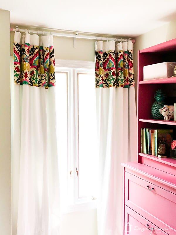 No-Sew Custom Panel Curtains