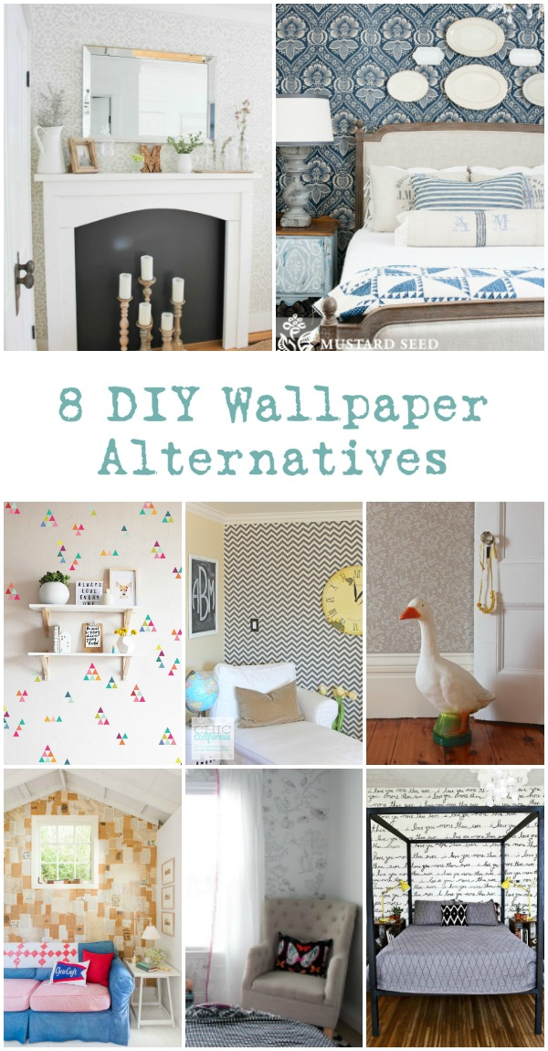 Do you want to cover you walls in pattern or color? Wallpaper isn't your only solution. Check out these 7 techniques and wallpaper alternatives.