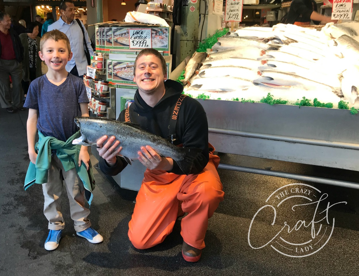 Fish Market at Pike Place Seattle