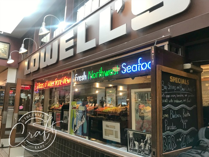 Lowell's Restaurant at Pike Place in Seattle