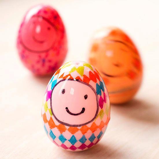 Plastic Egg Wee Wobblers