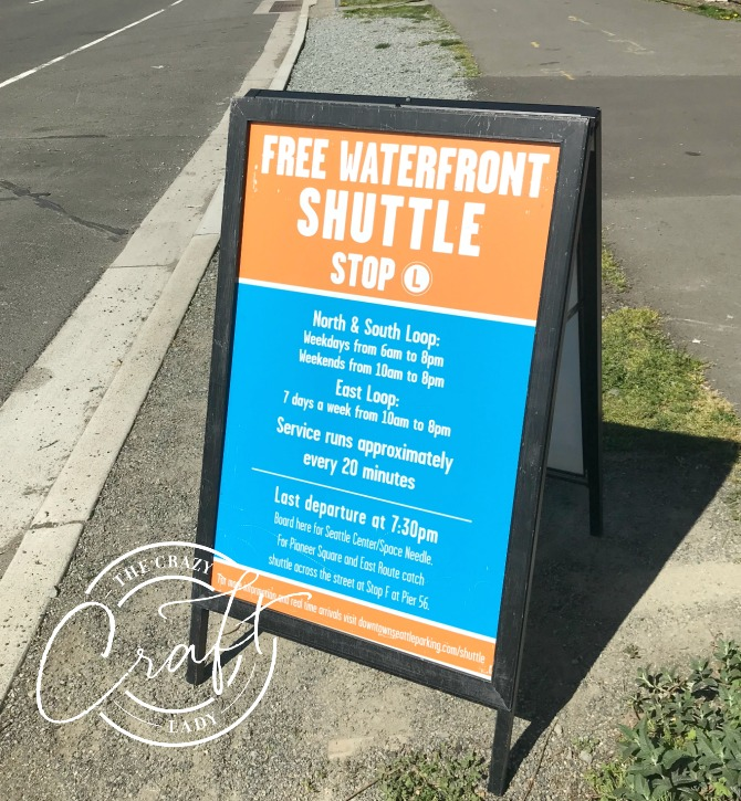Seattle Free Waterfront Shuttle