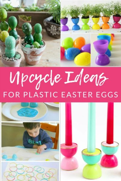 After Easter is over, put those baskets full of eggs to use with these unsuspected uses for plastic Easter eggs. Upcycle and re-use plastic eggs!
