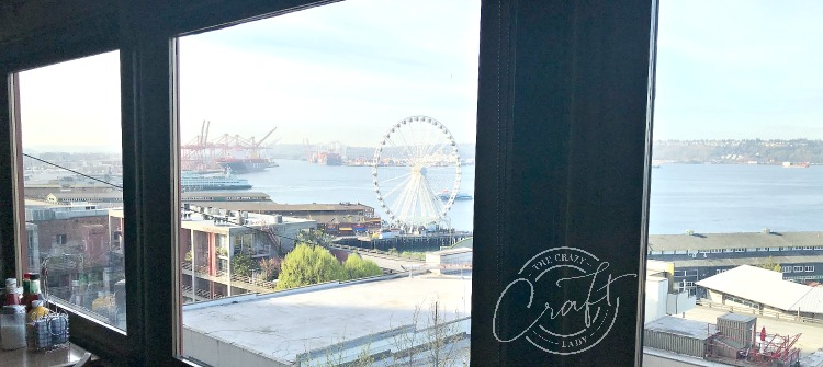 View from Lowell's Restaurant Seattle