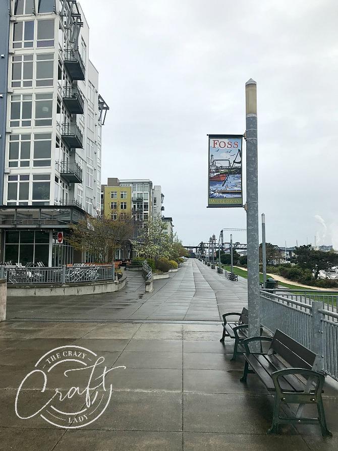 Foss Waterway in Tacoma WA