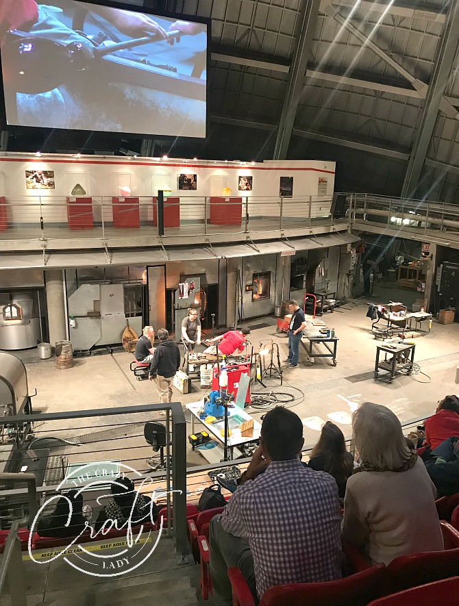 Tacoma Museum of Glass Hot Shop
