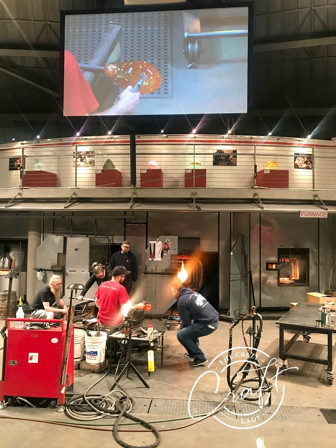 Tacoma Museum of Glass - Hot Shop