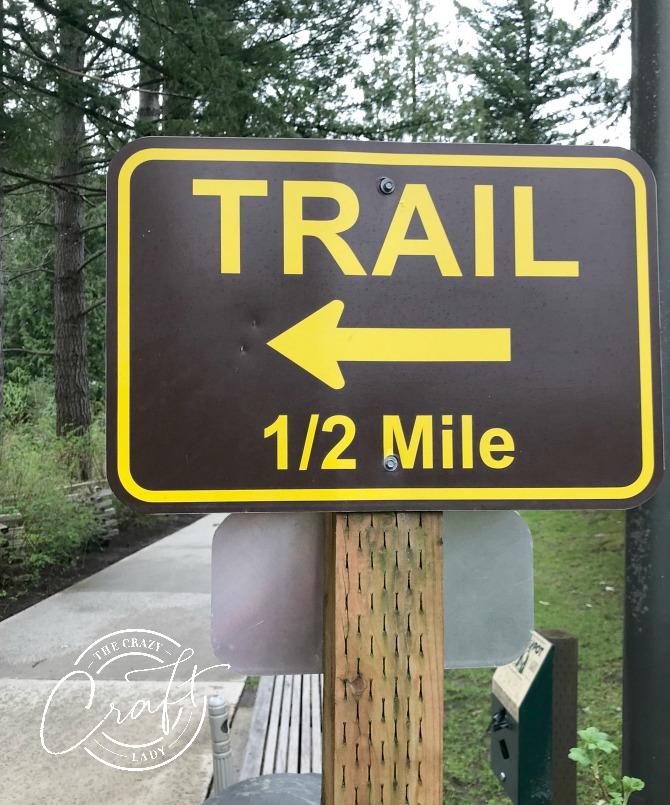 Trail at Snoqualmie Falls