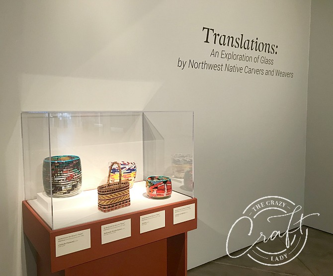 Translations - An Exploration of Glass by Northwest Native Carvers and Weavers