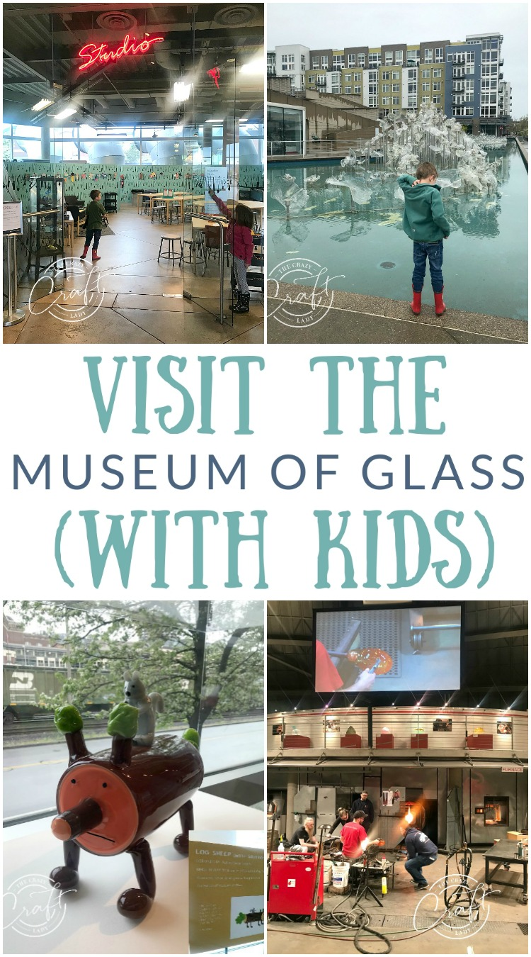 Looking for something fun, out-of-the ordinary, and a little crafty to do with the whole family in Tacoma? Check out the Tacoma Museum of Glass.