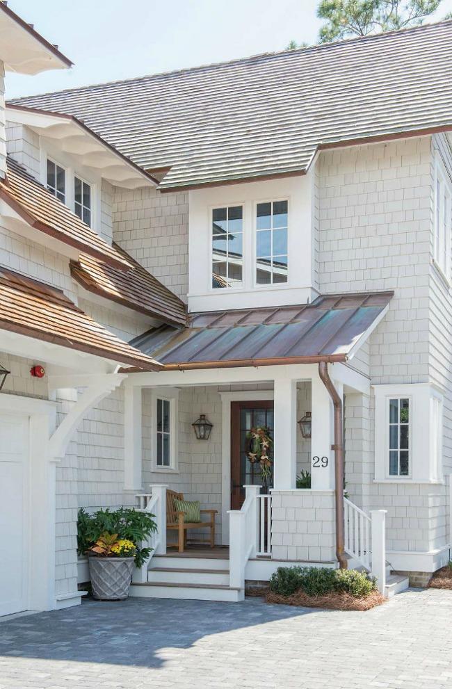 Home Exterior in Repose Gray