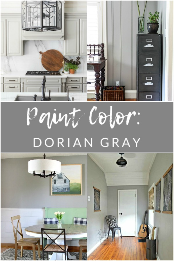 Paint Color - Sherwin Williams Dorian Gray